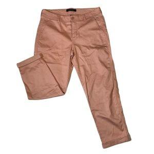 NWOT LIVERPOOL The Buddy Trouser Pants Pink Sz 10